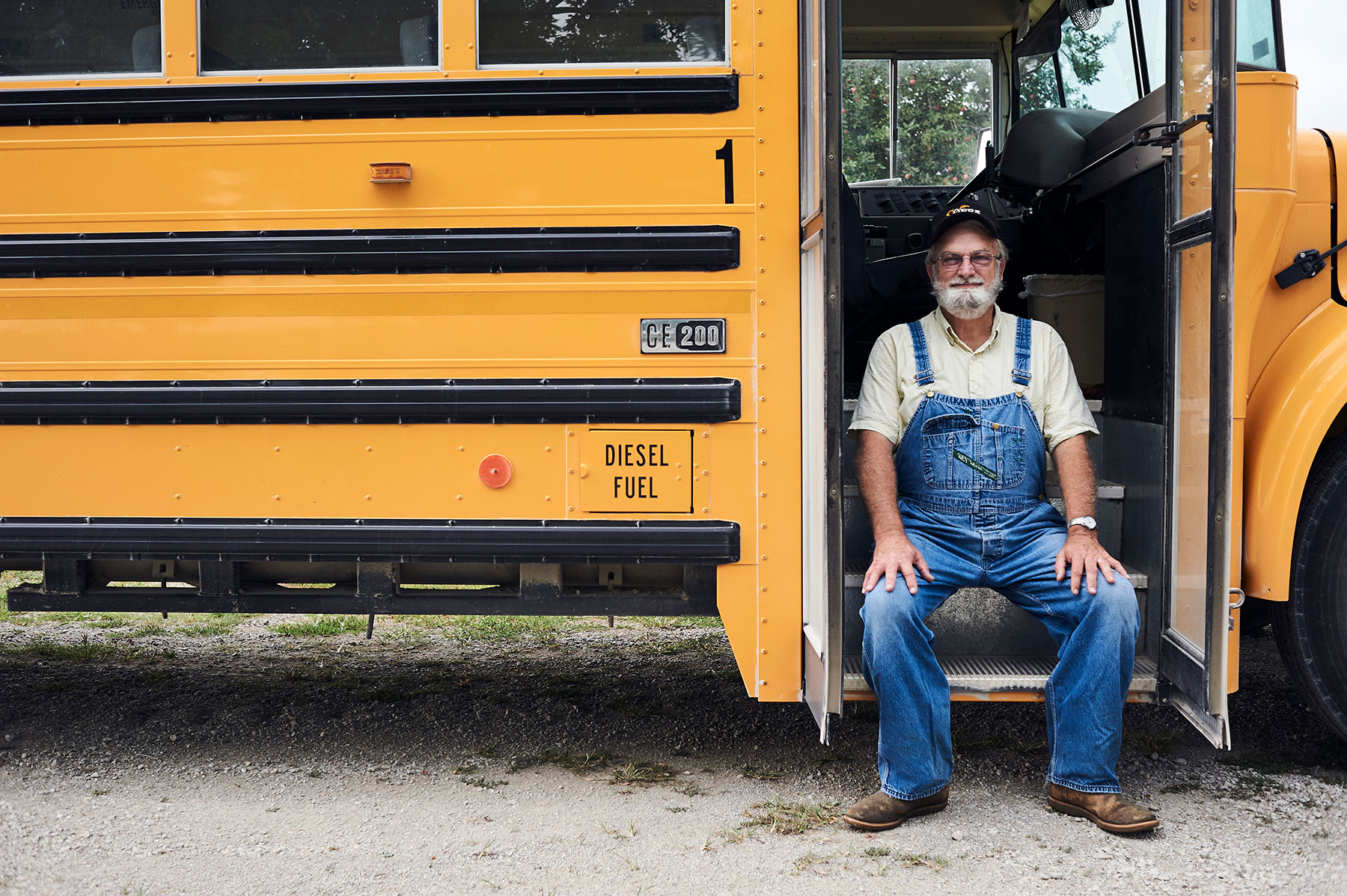 Matt Hoover Photography Kansas City Missouri School Bus Driver