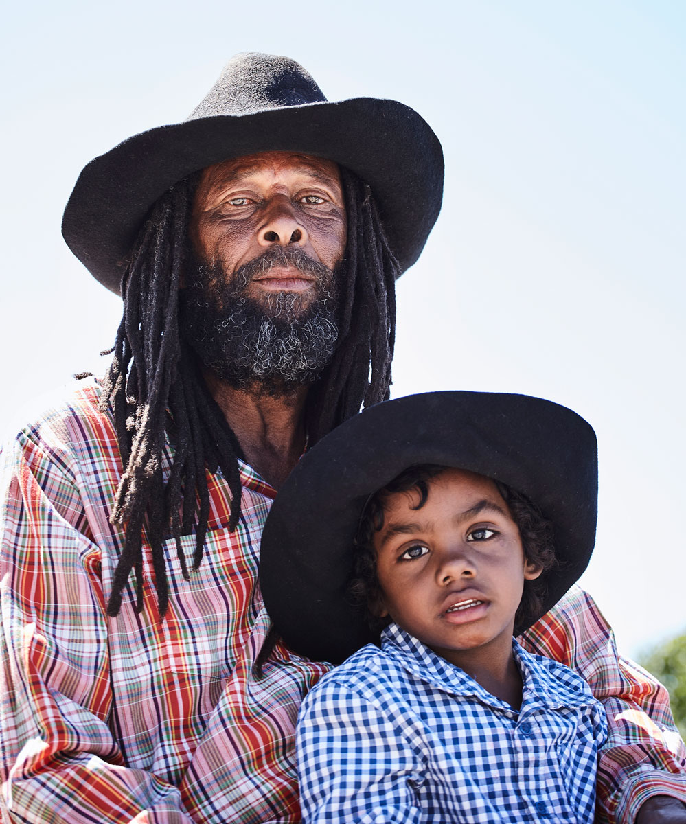 Matt Hoover Photography Kansas City Missouri Cowboy Father and Son